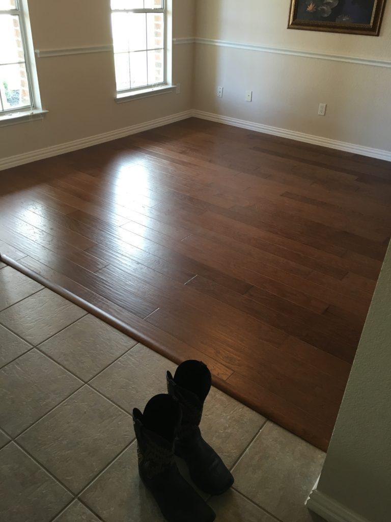 Hardwood flooring in Austin